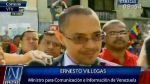 """""""El capitalismo es víctima de una enfermedad terminal"""", sostuvo ministro de información venezolano - Noticias de hugo chavez cancer"""