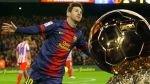 Lionel Messi acaricia su cuarto Balón de Oro consecutivo - Noticias de mathias messi