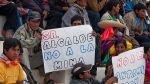 Protestas en Cañaris: manifestantes y policía se enfrentaron en desalojo de vía - Noticias de oficina nacional de diálogo y sostenibilidad