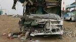 Piura: tres muertos y más de 40 heridos tras despiste de bus - Noticias de accidente en jaén