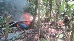 Huánuco: policía destruyó laboratorio de pasta básica de cocaína - Noticias de laboratorios de droga