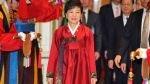 La primera presidenta de Corea del Sur asumió el cargo y enfrenta su mayor reto - Noticias de tom donilon
