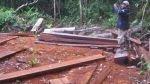 Madre de Dios: recuperan más de 2 mil metros cúbicos de madera ilegal de Tambopata - Noticias de tala de árboles