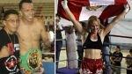 Miguel Sarria y Valentina Shevchenko se coronaron campeones mundiales de kickboxing - Noticias de consejo mundial de kickboxing