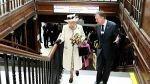 La reina Isabel II reapareció en público luego de sus problemas de salud - Noticias de vestidos duquesa de cambridge