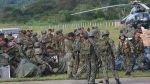 """""""Los reclutas del Servicio Militar Voluntario sí van al Vraem"""",  admitió viceministro de Defensa - Noticias de mario sanchez debernardi"""