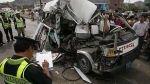 Trujillo: un muerto y once policías heridos tras accidente de tránsito - Noticias de provincia de otuzco