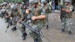 Bancadas de oposición piden la reforma del servicio militar - Noticias de fuerza popular hector becerril