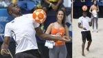 FOTOS: Usain Bolt compitió en Río de Janeiro, bailó funk, jugó fútbolnet y deslumbró - Noticias de futbolnet