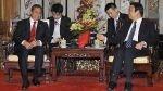 """Ollanta Humala presenta al Perú como """"puente"""" entre China y Latinoamérica - Noticias de yu li"""