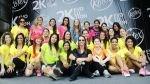 Vania Masías lideró maratón coreográfica que reunió a más de 1250 mujeres - Noticias de vania masías
