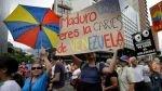 FOTOS: las manifestaciones a favor y en contra del chavismo inundaron las calles de Venezuela - Noticias de dia del trabajo