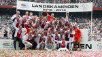 Ajax se coronó campeón del fútbol holandés - Noticias de danny hoesen