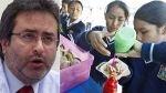 Jiménez: ley de 'comida chatarra' no impide desarrollo de industria alimentaria - Noticias de ley de comida chatarra