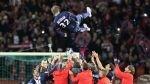 FOTOS: David Beckham dijo adiós a los hinchas del PSG entre lágrimas luego de anunciar su retiro - Noticias de d��namo brest