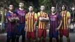 FOTOS: mira la nueva camiseta del FC Barcelona con la bandera de Cataluña - Noticias de camisetas de fútbol
