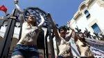 Túnez: activistas podrían pasar un año en prisión por protestar en topless - Noticias de amina tyler