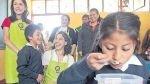 Programa Qali Warma reparte alimentos considerados chatarra - Noticias de aida miranda