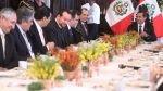 Ollanta Humala se reúne con  los gremios empresariales en Palacio - Noticias de carlos chiappori