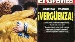 Cinco anécdotas del humillante 5 a 0 de Colombia a Argentina - Noticias de wilson pastor