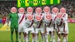 Arma tu equipo de Perú para el partido ante Colombia - Noticias de claudio pizarro bossio
