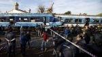 FOTOS: impactantes imágenes del choque mortal de trenes en Argentina - Noticias de ferrocarril sarmiento