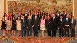 Príncipes de Asturias recibieron a jóvenes periodistas latinoamericanos - Noticias de fundación telefónica madrid