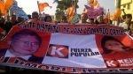 Fujimoristas marcharon en Chiclayo pidiendo el indulto a Alberto Fujimori - Noticias de tumán