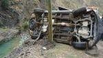 Cusco y Arequipa: accidentes viales dejan tres muertos y 26 heridos - Noticias de distrito de huayopata