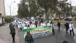 Huelga de Essalud: médicos marchan hacia la sede de la PCM - Noticias de hospital naval del callao