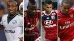 Champions League: Schalke, Milan, Lyon y Arsenal aspiran volver a fase final - Noticias de stephan el shaarawy