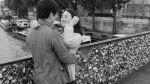 'Peso del amor' hace temblar uno de los lugares más románticos de París - Noticias de federico moccia