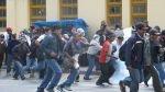 La Oroya: enfrentamiento entre cafetaleros y Policía dejó unos 20 heridos - Noticias de lourdes paucar
