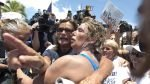 FOTOS: el asombroso nado de Diana Nyad, de 64 años, desde La Habana hasta Florida - Noticias de diana nyad