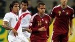 Perú-Venezuela: Claudio Pizarro sería el '9' y Paolo Guerrero iría la banca - Noticias de alberto rodríguez
