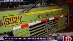 Surco: once heridos dejó un accidente de tránsito en Tomás Marsano - Noticias de clínica maisón de santé