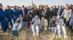 """Astronautas regresaron """"a ciegas"""" a la Tierra tras falla en la Soyuz - Noticias de luca parmitano"""
