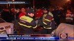 La Molina: quíntuple choque dejó a un taxista herido - Noticias de vehículos mal estacionados