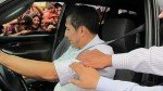 Vehículo de Ollanta Humala fue rodeado por manifestantes en Lambayeque [VIDEO] - Noticias de tumán