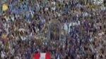 Papa Francisco saludó a imagen del Señor de los Milagros que llegó al Vaticano [VIDEO] - Noticias de cristo moreno