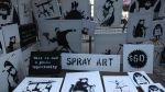 Banksy vendió de incógnito sus obras en Nueva York y solo obtuvo 420 dólares [VIDEO] - Noticias de venta ambulatoria