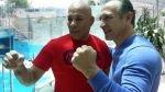 Romerito y 'Boom Boom' Mancini se reencontraron después de 30 años [VIDEO] - Noticias de ray mancini