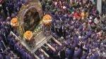 El Señor de los Milagros seguirá el lunes esta ruta en su quinto recorrido por Lima - Noticias de cristo moreno
