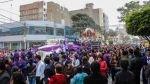 El Señor de los Milagros va del centro de Chiclayo a Pimentel en un tráiler [FOTOS] - Noticias de cristo moreno