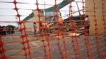 Trujillo: Se desplomó una pared del colegio emblemático Seminario - Noticias de seminario santo toribio