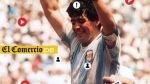 Maradona cumple 53 años: repasa lo mejor de su carrera [FOTO INTERACTIVA] - Noticias de real madrid nadine heredia