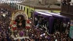 Señor de los Milagros: este será el último recorrido del año - Noticias de cristo moreno