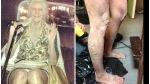Heidi Klum lució sorprendente disfraz de anciana en Halloween [FOTOS] - Noticias de heidi klum