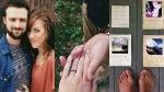Una pareja se conoció, se enamoró y se comprometió gracias a Instagram - Noticias de denis lafargue