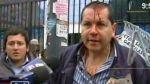 Herido en protesta frente a universidad Garcilaso responsabilizó a rector - Noticias de luis claudio cervantes linan